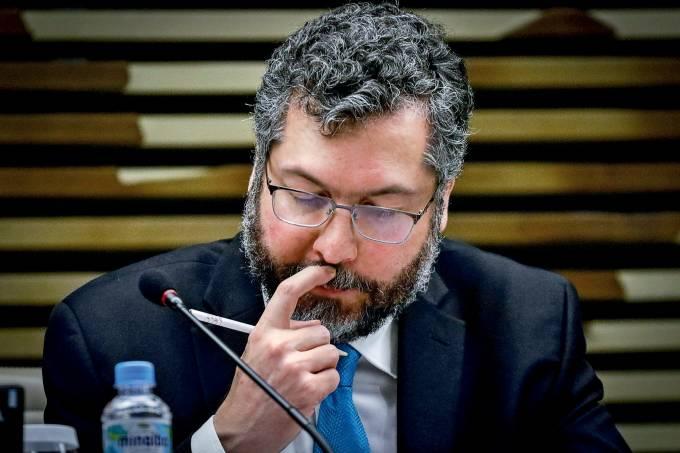 FIESP recebe Ministro Ernesto Ara˙jo