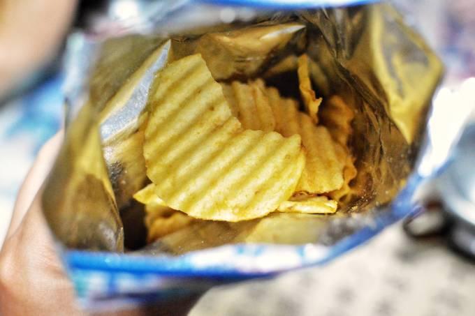 batata chips – salgadinho – gordura trans