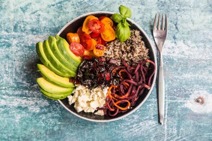 bowl vegetariano – vegano – vegetais