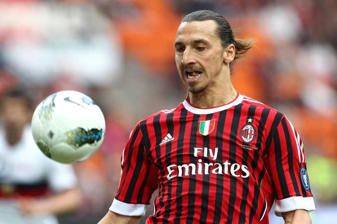 Milan Genoa Zlatan Ibrahimovic