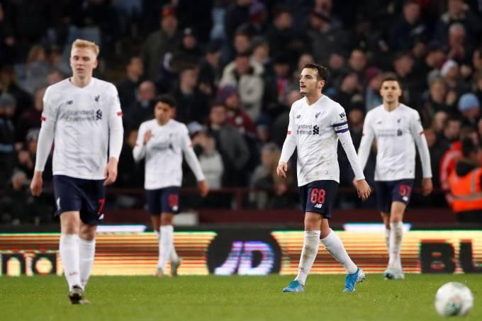 Carabao Cup – Quarter Final – Aston Villa v Liverpool