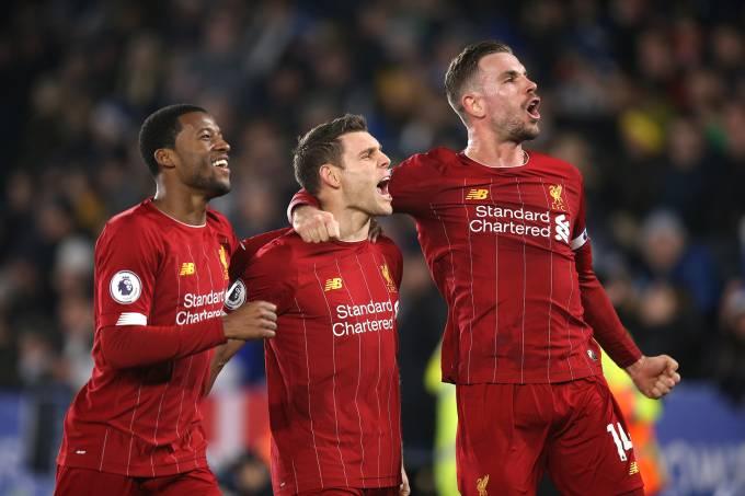 Leicester Liverpool Wijnaldum Henderson Milner