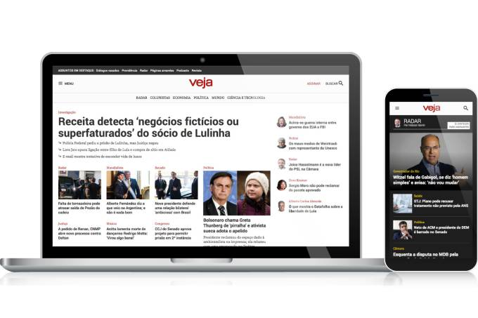 Novo layout de VEJA (2019)