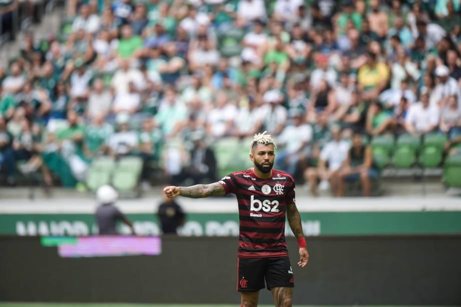 Palmeiras x Flamengo pelo Brasileirão 2019, no Allianz Parque
