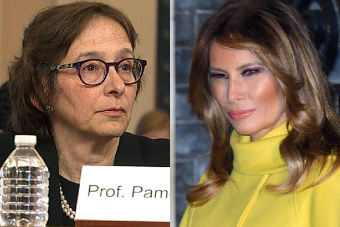 Pamela Karlan e Melania Trump