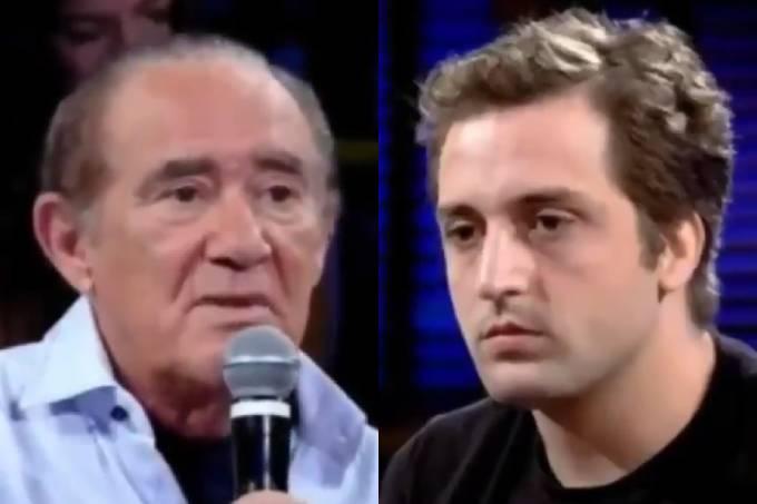Renato Aragão e Gregório Duvivier