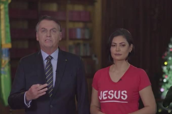 Mensagem de Natal do Presidente Jair Bolsonaro e Primeira-dama Michelle Bolsonaro (24/12/2019)