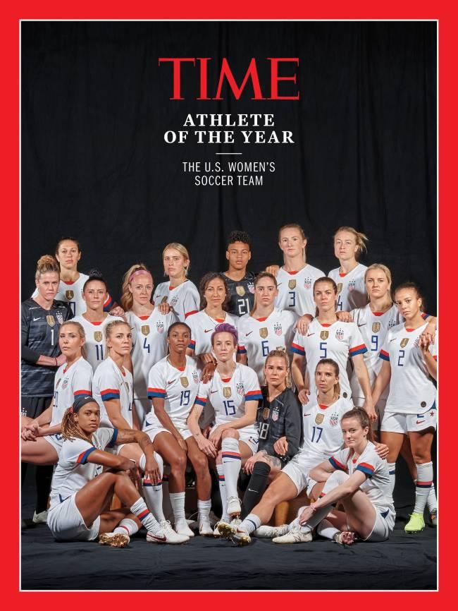 Seleção americana é eleita Atleta do Ano pela 'Time'
