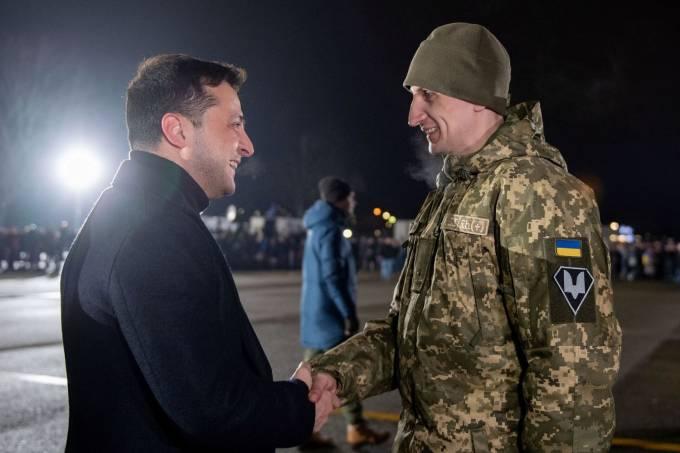 Troca de prisioneiros Ucrânia separatistas