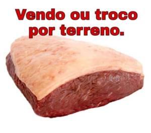Imagem compartilhada via WhatsApp sobre preço da carne (04/12/2019)
