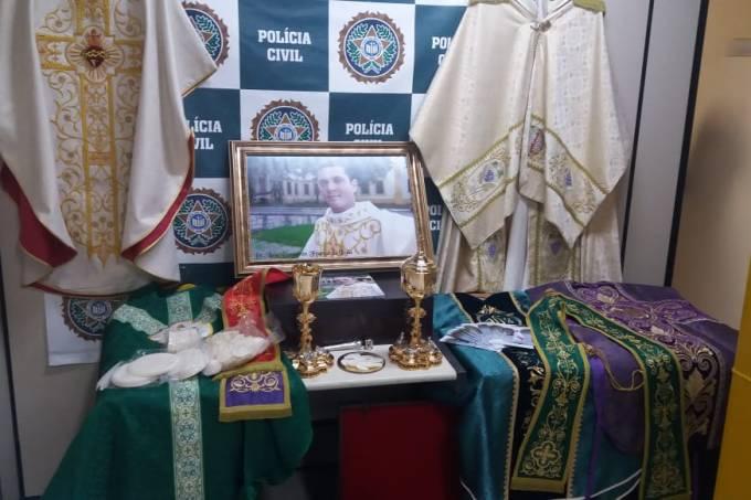 Falso padre é preso por estelionato no RJ