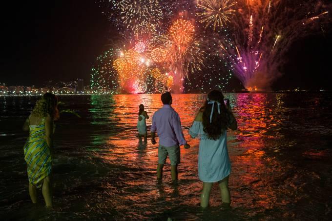 BRAZIL-NEW YEAR'S EVE-BEACH