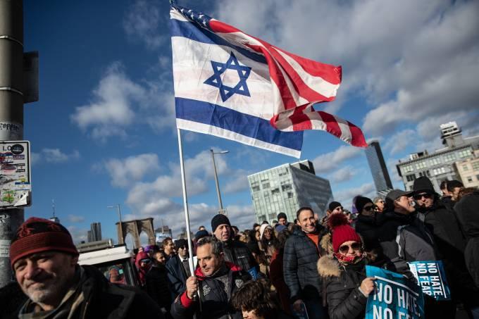 Marcha Antissemitismo Nova York
