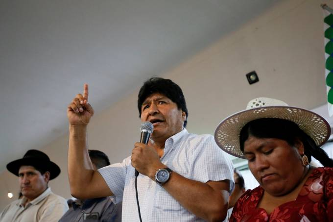 Ex-presidente Evo Morales