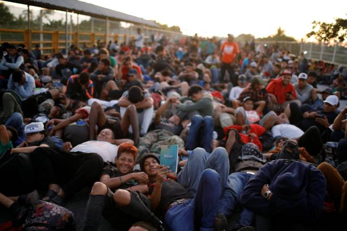 Caravana migrantes México