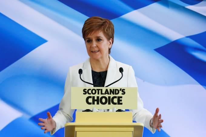 Primeira-ministra da Escócia, Nicola Sturgeon