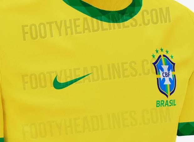 Nova camisa da seleção brasileira será inspirada no da Copa de 1970