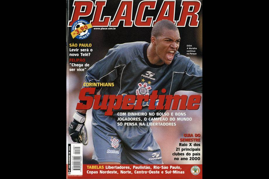 A capa de PLACAR que registrou o primeiro Mundial de Clubes organizado pela Fifa