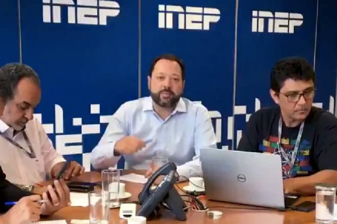 Presidente do Inep, Alexandre Lopes, fala sobre a apuração de 'inconsistências' no Enem 2019