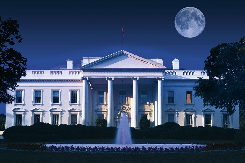 NOS EUA- Casa Branca: a sede do governo americano tem 2000 servidores