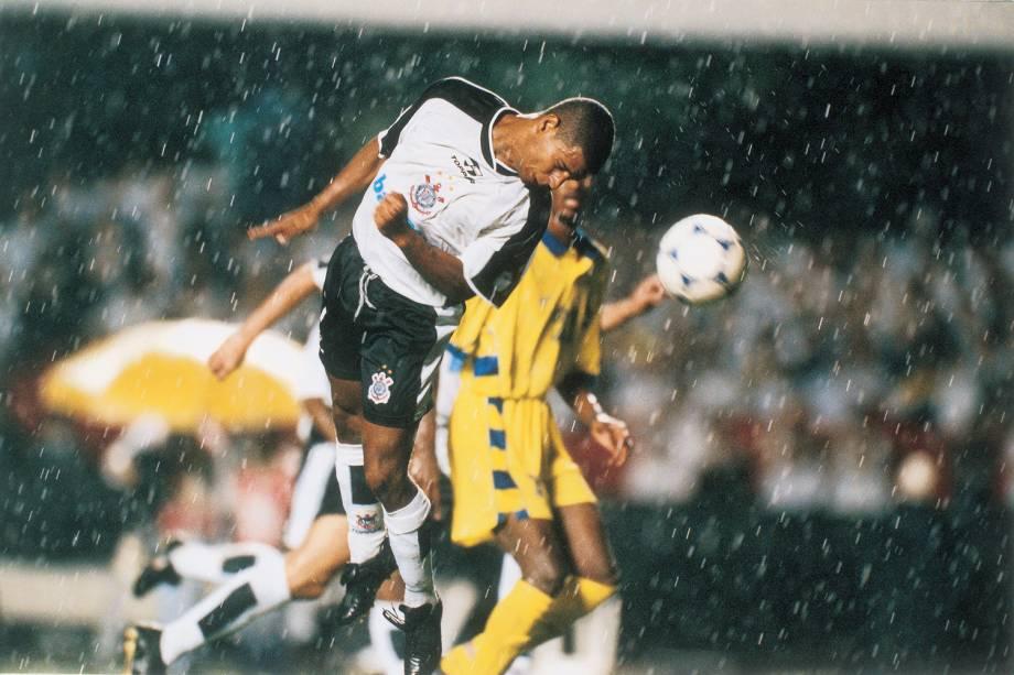 Corinthians contra o Al Nassr pela primeira fase do Mundial, no Morumbi.