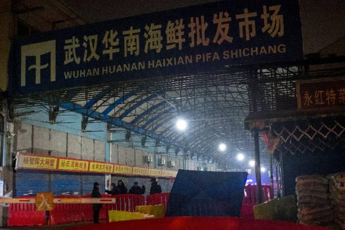 Coronavírus – Mercado de frutos do mar Wuhan – Japão – China