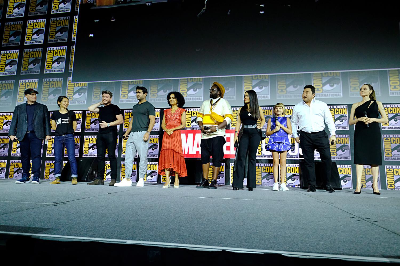 Elenco de 'Eternos' na Comic Con de San Diego