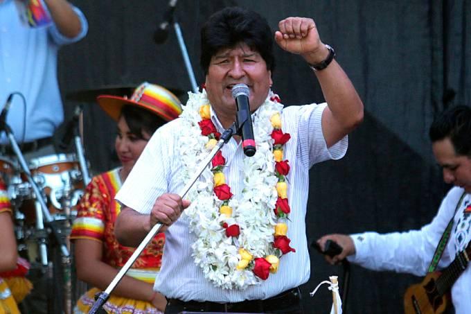 Evo Morales na Argentina (1)
