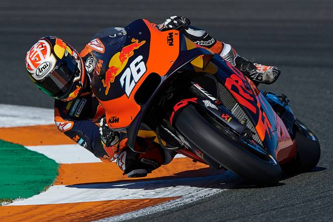 MotoGP Tests in Valencia