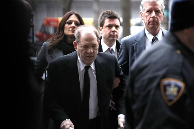 O primeiro dia do julgamento de Harvey Weinstein (06/01/2020)