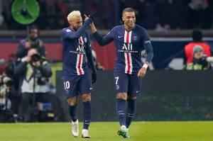 Neymar e Mbappé marcaram na vitória sobre o Monaco