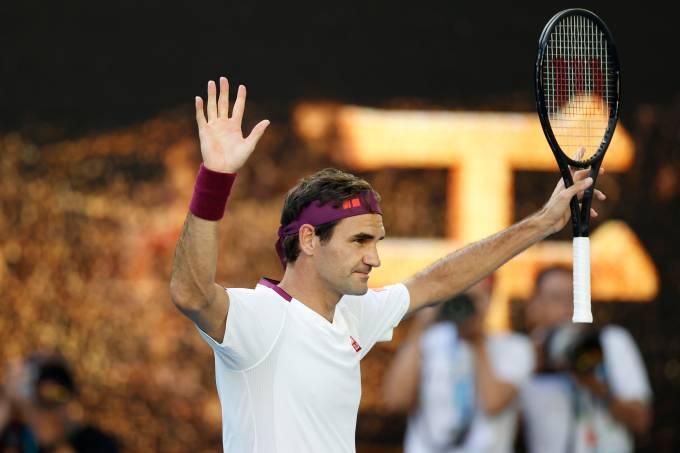 Roger Federer chega à semifinal do Aberto da Austrália 2020