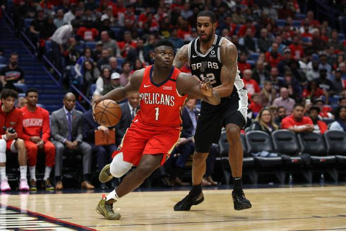 San Antonio Spurs v New Orleans Pelicans – Zion Williamson