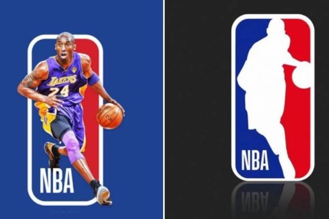 Uma das opções de novo logo da NBA propostas por fãs de Kobe Bryant
