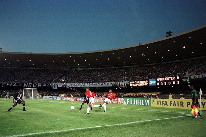 O velho Maracanã foi um dos palcos do primeiro Mundial de Clubes organizado pela Fifa