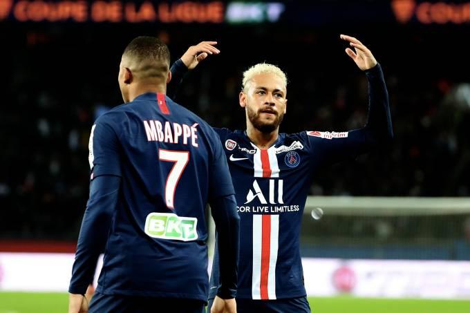 PSG Saint-Etienne Copa da França Neymar