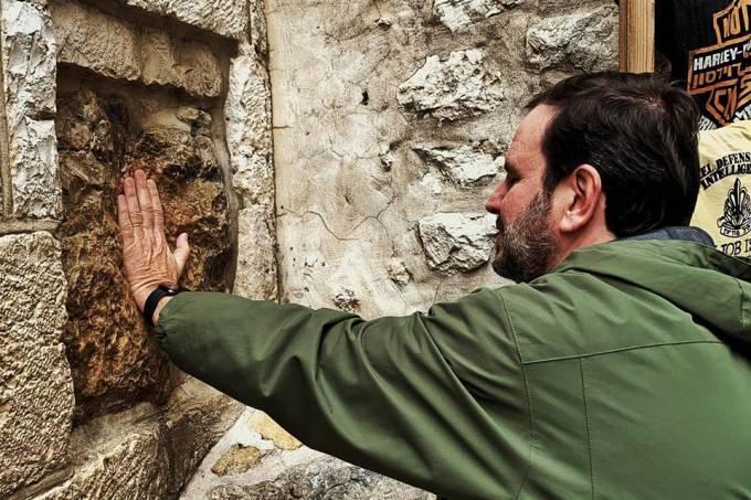 Eduardo Paes em Jerusalém