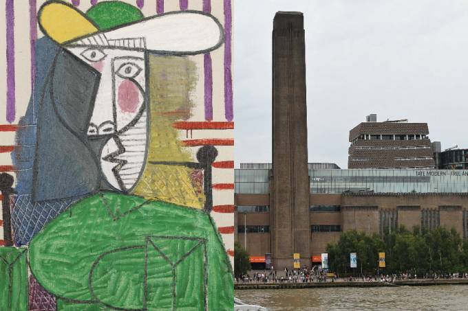 O quadro 'Busto de uma Mulher' e o museu Tate Modern