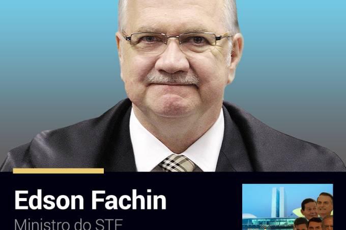 Podcast Funcionário da Semana: Edson Fachin