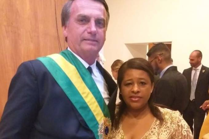 Rai Cozinheira e Jair Bolsonaro 2