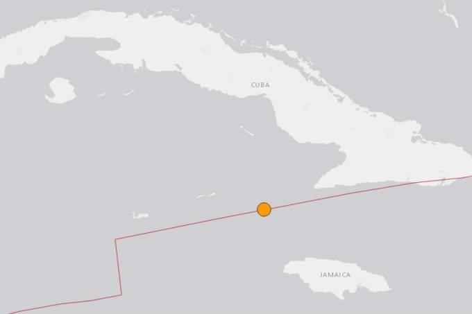Terremoto Jamaica e Cuba