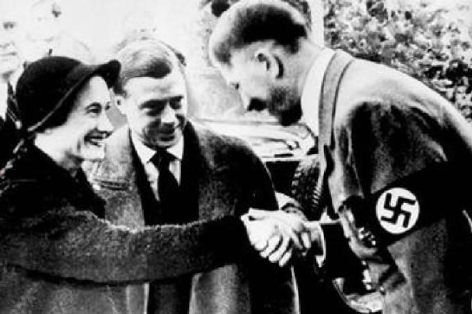Wallis, Edward e Hitler em 1937