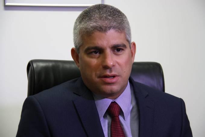 Secretário estadual de Segurança Pública (SSP) da Bahia, Mauricio Barbosa