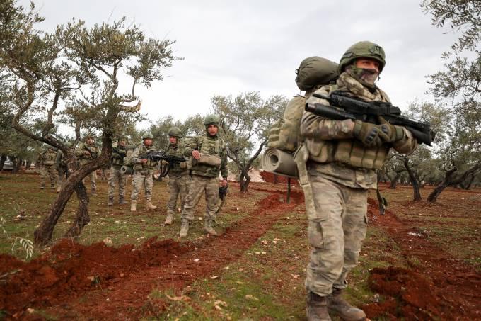 SYRIA-TURKEY-CONFLICT