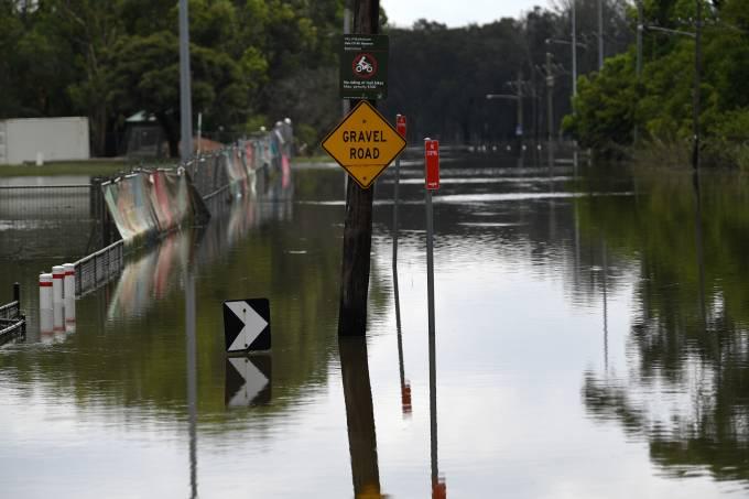 Austrália Inundação Clima