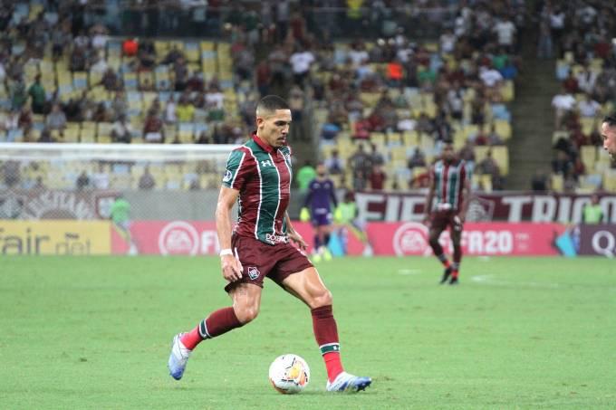 Partida entre Fluminense e Unión La Calera pela Sul-Americana