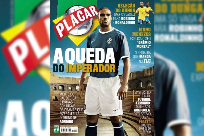 Capa da revista Placar, edição 1309, de Agosto de 2007.