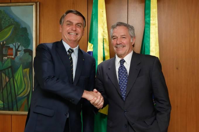 12/02/2020 Encontro com Felipe Solá, Ministro das Relações Ex