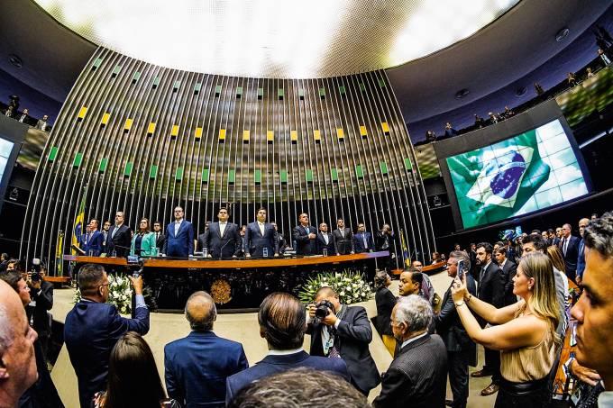 Abertura dos trabalhos legislativos 2020