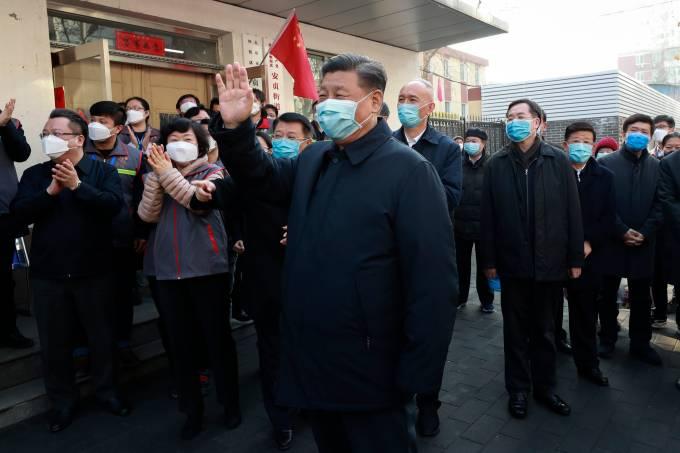 China coronavírus Xi Jinping